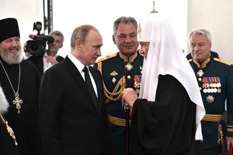 Президент России посетил Кронштадт